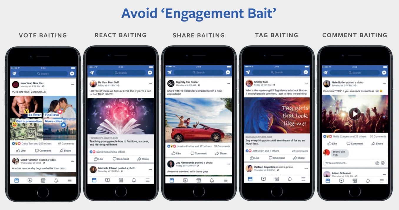 No all'engagement bait
